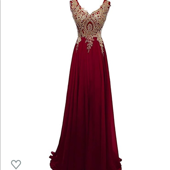 unknown Dresses & Skirts - Chiffon prom/ bridesmaid dress size 6
